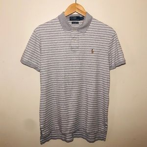 Polo Ralph Lauren Men's (M) Gray Polo